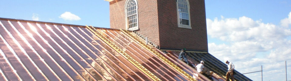Installation Of Slate Or Copper Roofing Systems Requires Specialized Skill  And Knowledge. Slate And Copper Possess Unique Material Qualities.